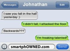 Page 54 - Autocorrect Fails and Funny Text Messages - SmartphOWNED