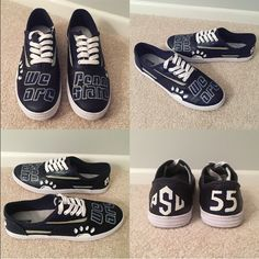 the latest e119a 336c1 Shoes - Handpainted Penn State Shoes