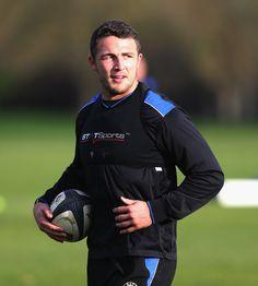 Sam Burgess Photos: Bath Rugby Training Session