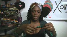 XONGANI - Faixa Afro - Como usar!!
