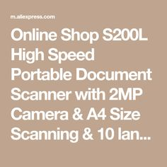 Bill Receipt S510 Billreceipt Scanner  Portable Document Scanner  Portable Ocr .