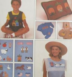 Simplicity 9078 Craft Appliques Sewing Pattern Uncut