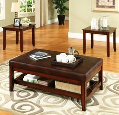 Brewster 3 Piece Occasional tables by Steve Silver