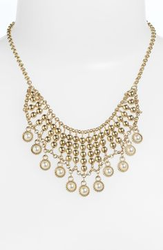 Stephan & Co. Pearl Statement Necklace by beatrice