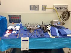 BKA. Below the knee amputation. Back table setup. No mayo stand. Surgical Tech. General and vascular surgery.