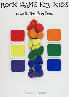 When you are teaching children about colors, it is important to get creative and  provide hands-on games and activities.