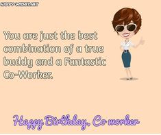 Birthday Wishes For Coworker Quotes Images Happy Colleague