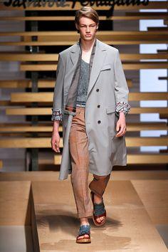 Salvatore Ferragamo Menswear Spring Summer 2015 Milan Fashion Week June 2014