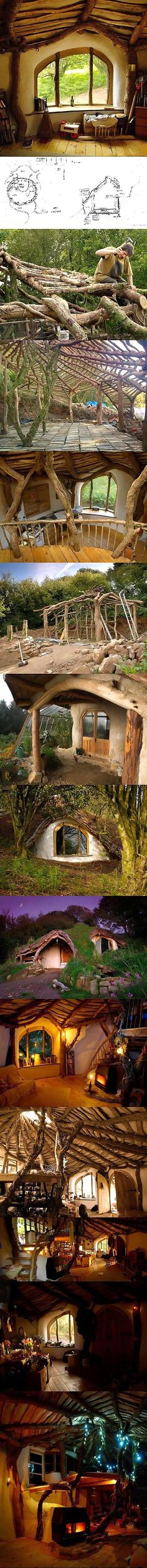 Here's How To Build A Hobbit House