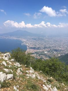 Monte Faito e Panorama (cable car view) - Vico Equense, Italy