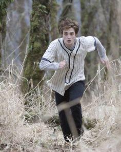 Edward Playing Baseball