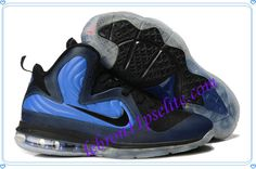 Lebron 9 Shoes Lebrons IX ID Foamposite Orlando Midnight Navy Black Blue-A new sample of Lebron 9 Shoes