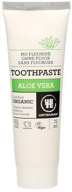 Urtekram Dentifrice à l'Aloe Vera, 75 ml | Ecco Verde