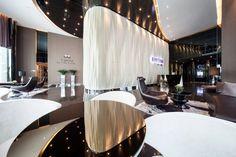 Rhythm Sukhumvit 44/1 by AP | Wison Tungthunya & W Workspace Lobby Reception, Condominium, Interior Architecture, Places, Table, Furniture, Hallways, Wordpress, Home Decor