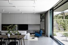 Winton House by Molecule Studio – Project Feature – The Local Project Triangle House, Interior Architecture, Interior Design, Front Rooms, Brickwork, Concrete Floors, Victorian Homes, Home And Family, Family Rooms