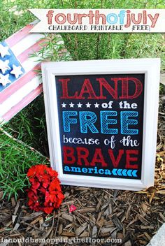 4th+of+july+chalkboard+printable