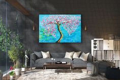 Large Abstract Painting,Modern abstract painting,square painting,home decor wall art,xl abstract pai Modern Oil Painting, Large Painting, Texture Painting, Oversized Canvas Art, Large Canvas, Large Artwork, Colorful Wall Art, Artwork Display, Home Decor Wall Art