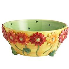 Daisy Serve Bowl from Pier One