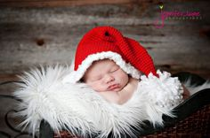 how to crochet santa hat