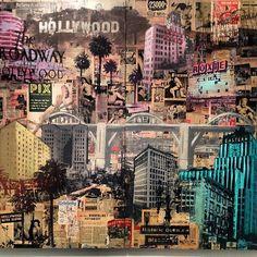 "Restitution Press ""Emerald City"" #art #artshow #vintage #mixedmedia #contemporaryart #cavegallery (at C.A.V.E Gallery)"