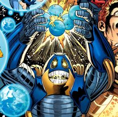 Anti-Monitor. The supervillain and the antagonist of the 1985 DC Comics miniseries Crisis on Infinite Earths. #comics