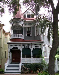belleantique: Victorian House in Savannah, GA - Victorian Houses