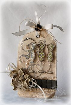 I love this & the dressforms!! (Pickled Paper Designs: Impression Obsession Week: Day Three)
