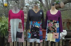 cute altered dresses. clothes with a new life.