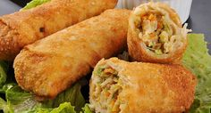 Ever wonder how to make egg rolls? This recipe can be made with or without the pork if you are vegetarian. If you want it without meat, then just add another cup of grated vegetables. Egg Rolls Recipe from Grandmothers Kitchen. Egg Roll Recipes, Great Recipes, Favorite Recipes, Muffin Recipes, Cupcake Recipes, Easy Recipes, Easy Meals, Comida Filipina, Homemade Egg Rolls