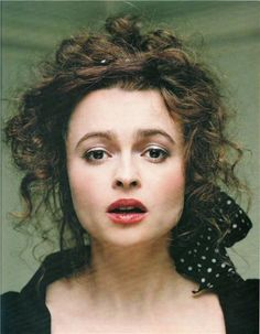 Helena Bonham Carter. I love her. She is a perfect level of eccentric.
