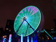 Panasonic FZ200, Grande Roue, Ferris Wheel, Place des Festivals, Montréal en lumière, Montréal, 28 février 2013 (114) 2013, Place, Festivals, Up, Colors, Ferris Wheel, Sleepless Nights, Colour, Concerts