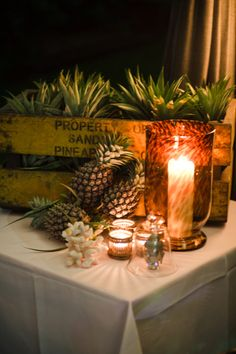 Love the use of pineapples! So cute! gooseandjones.com.au
