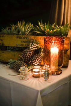 Love the use of pineapples! So cute! gooseandjones.com.au
