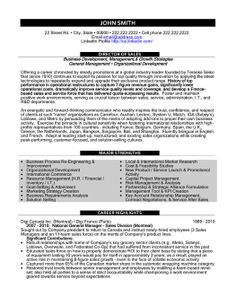 click here to download this director of sales resume template httpwww - Sales Resume Templates