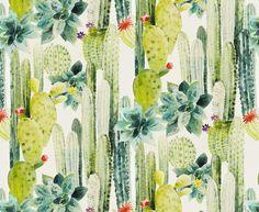 Les papiers peints tendances Papier peint Cactus - Autres idées déco sur le blog Luminaire.fr http://www.luminaire.fr/blog/2016/06/08/style-tropical/