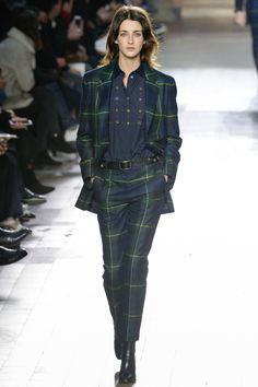Paul Smith Fall 2017 Key Details: plaid, suiting, matching set, longer length jacket, larger oversize cut