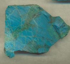 Chrysocolla slab for lapidary or specimen