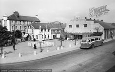 Brynmawr, The Market Square c.1955, from Francis Frith