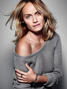 Amber Valletta looking stunning in the new Marc O´Polo Spring/ Summer 2014 Jewels Campaign Amber Valletta, German Fashion, Marc O Polo, Blonde Beauty, Crochet Fashion, Looking Stunning, Mannequins, Well Dressed, New Outfits