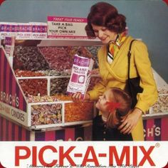 Brachs Pick-A-Mix! They had this @ Marsh supermarket in Marion, Indiana, where I grew up......remember Mom would get the Butterscotch disks & we got to pick some goodies too!!!!