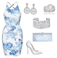 """""""Untitled #2471"""" by carlamiarose ❤ liked on Polyvore featuring mode, Office, GCGme, Crislu en Bling Jewelry"""