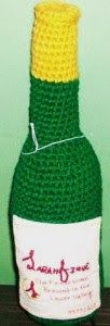 2000 Free Amigurumi Patterns: Wine Bottle