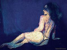 Naked Illustration #illustration #nude #art #woman