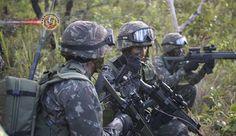 EUA realizarão exercícios militares inéditos na Amazônia. O Exército brasileiro convidou tropas dos EUA para participar de um exercício militar na Amazônia,