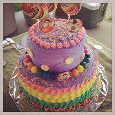 Sugar Rush Wreck it Ralph Birthday cake!!!