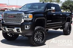 Shop Hurst Autoplex's selection of high-end custom and lifted GMC Sierra and trucks. All of our trucks are lifted & customized in-house. Gmc Trucks For Sale, Gm Trucks, Lifted Trucks, Chevy Trucks, Pickup Trucks, Lifted Chevy, Gmc Diesel, Diesel Trucks, Diesel Tips