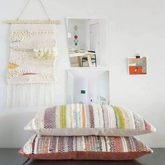 Cabins In The Woods, Weaving, Interiors, Crochet, Projects, Inspiration, Furniture, Ideas, Home Decor