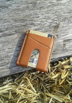 Items similar to Brown leather vertical wallet Slim card holder Men's simple wallet Thin leather wallet Minimalist leather wallet Groomsman gift on Etsy Leather Working, Real Leather, Brown Leather, Simple Wallet, Slim Wallet, Personalized Leather Wallet, Leather Keychain, Minimalist Leather Wallet, Wallet Pattern