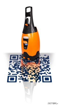 Totally QR : Leads to a video promoting the benefits of TotalGaz. #QRcode #QR