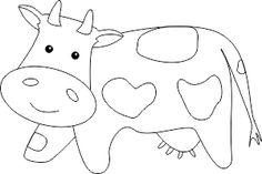 Krowa do kolorowania Colouring Pages, Kids Rugs, Cartoon, Education, Animals, Fictional Characters, Color, Preschool, Craft